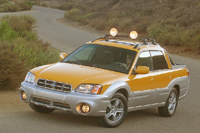 The Quot Baja Quot Subaru S New Crossover Vehicle For 2003