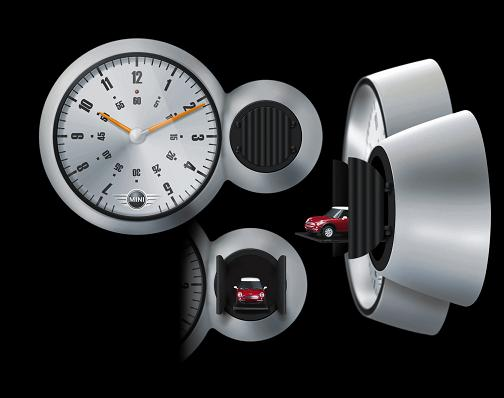 Mini new accessories for more fun - Motorcycle cuckoo clock ...